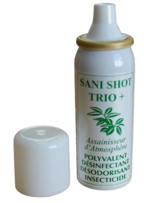 12 AEROSOLS SANI SHOT TRIO 50ml